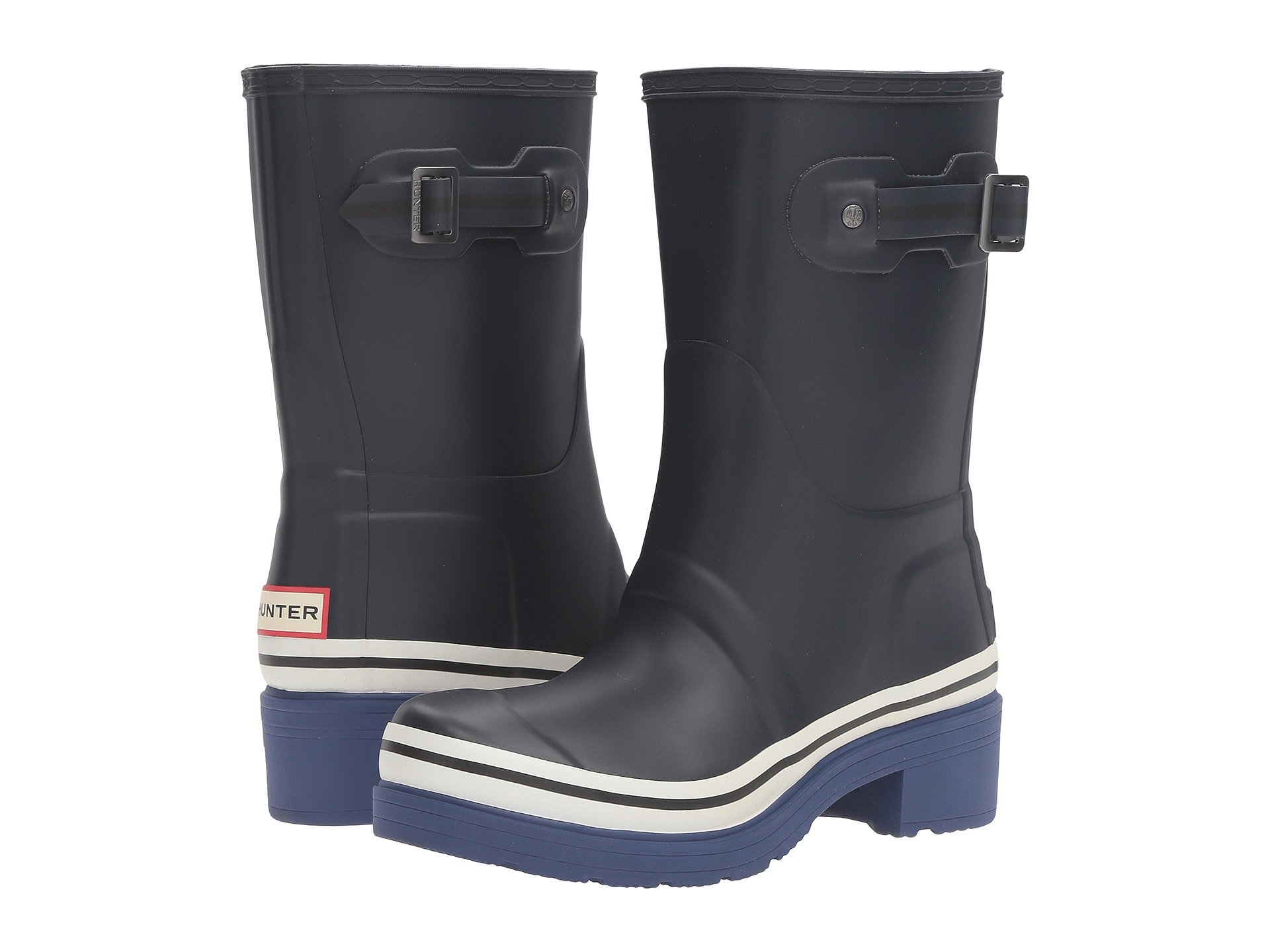 Hunter Original Ankle Boot Buoy Stripes At 6pm