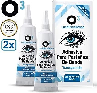 O³ Adhesivo Pestañas Postizas 2 Unidades - Pegamento Pestañas Postizas - Eyelash Glue | Pegamento Extensiones De Pestañas