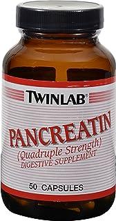 Twinlab Pancreatin - 50 Capsules