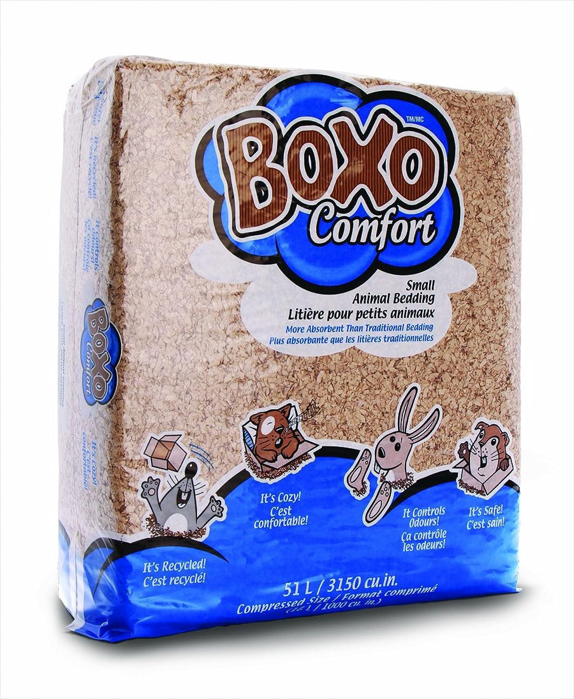 Boxo Comfort Small Animal Bedding, 51Liter