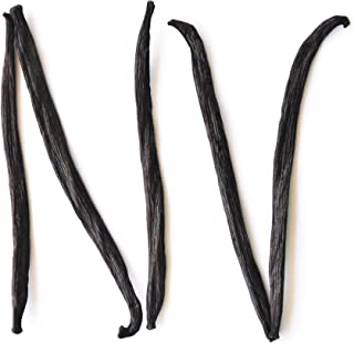 Sponsored Ad - Native Vanilla Grade B Tahitian Vanilla Beans – 5 Premium Extract Whole Pods – For Chefs and Home Baking, C...