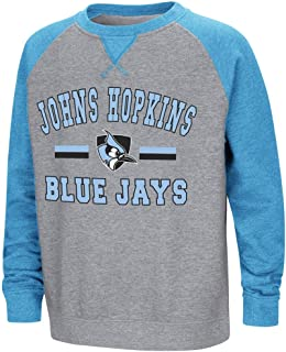 Colosseum Youth Johns Hopkins Blue Jays Fleece Crewneck Sweatshirt