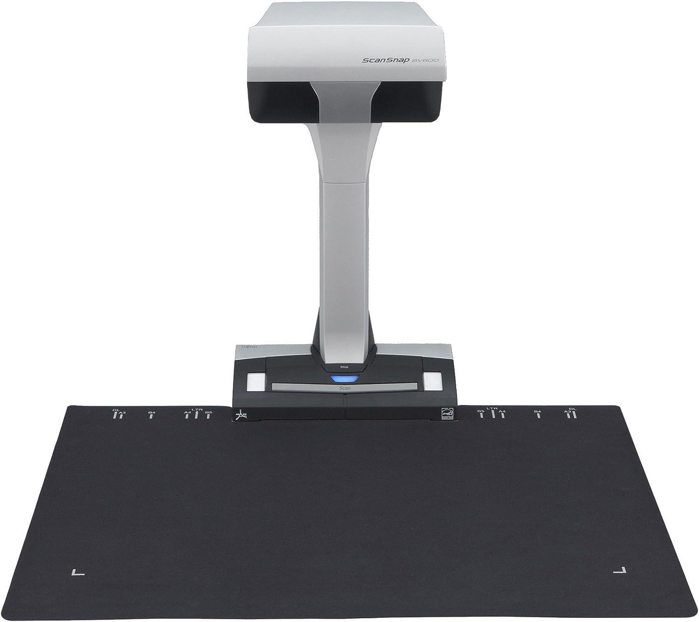 Fujitsu Scanner Background Plate - Black - for ScanSnap SV600