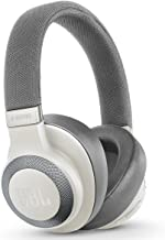 JBL E65BTNC White Wireless Over-Ear Noise Cancelling Headphones