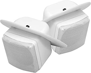 MAGNADYNE LS3CMW 3 INCH Ceiling Mount Satellite Speakers for RV's/Mobile-Homes Sold as a Pair White