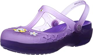 Womens Carlie Mary Jane Flower Hello Kitty Shoes