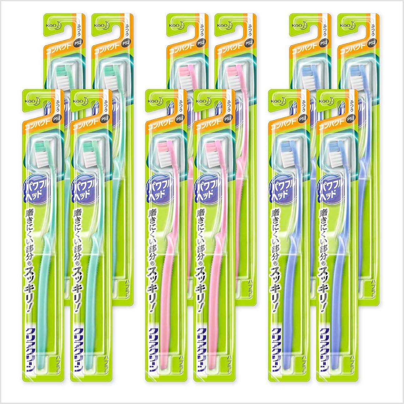 消費可動緑【まとめ買い】クリアクリーン パワフルヘッド コンパクト ふつう 12本セット