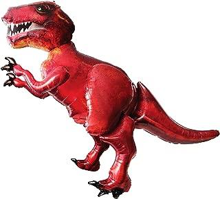 Anagram Giant 5Ft T-Rex Dinosaur Balloon Airwalker Foil Jurassic Party World Park Life Size Big Inflated Dino