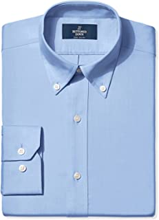 aa72464f3 Amazon Brand - BUTTONED DOWN Men s Fitted Solid Pinpoint Non-Iron Dress  Shirt (3