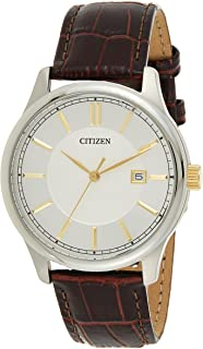 Citizen Casual Watch For Men Analog Leather - BI1054-04A
