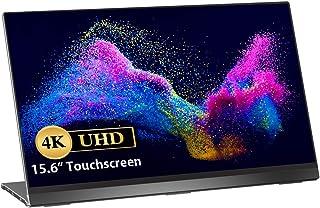 Moniteur Portable USB C ¨¤ ¨¦Cran Tactile 4K, UPERFECT Moniteur de Jeu Portable 15,6 Pouces 3840x2160 avec Affichage sans ...