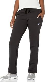 Champion womens Fleece Open Bottom Pant Sweatpants