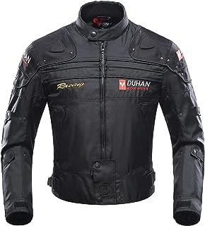 color negro c/ómodos suaves para uso al aire libre y todoterreno Pantalones cortos de protecci/ón para motocicleta o motocicleta protecci/ón contra impactos