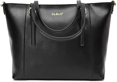 Clelo Women's Leather Tote Shoulder Bag