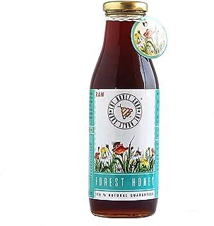 THE HONEY SHOP – Raw Organic Forest Honey, Wild, Unprocessed, Unheated, Non Pasteurized, Original Honey 100% pure and Natu...