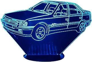 PEUGEOT 405, lampada da salotto 3D