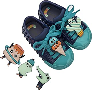mini melissa Baby Girls Polibolha + Turma Do Pudim (طفل صغير) أزرق فاتح 7 طفل صغير M
