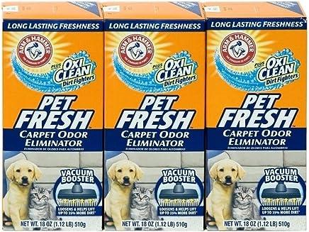 Arm & Hammer Pet Fresh Carpet Odor Eliminator Plus Oxi Clean Dirt Fighters