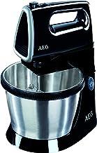 AEG SM 3300 Handmixer / 5 snelheden / 2-in-1 functie / turbo-functie / uitwerpknop / 3,5 l roterende kom / 2 roerbezem, 2 ...