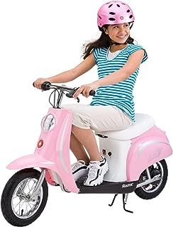 Razor Pocket Mod Miniature Euro Electric Scooter, Pink (Renewed)