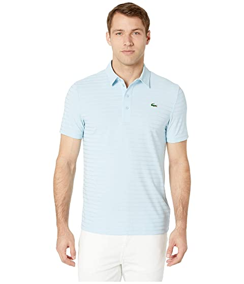 cf3355de85ae Lacoste Short Sleeve Golf Ultra Dry Tech Jersey Solid Jacquard Polo ...