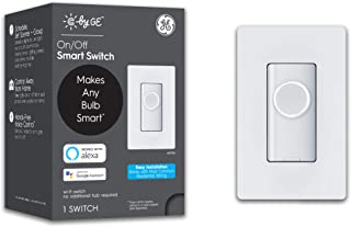 C by GE 3-Wire On/Off Button Style Smart Switch with...