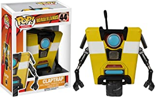 Funko Claptrap Pop Games Vinyl Figure & 1 Compatible Graphic Protector Bundle (05577 - B)