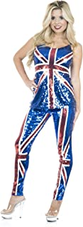 Charades Women's British Sequin Top and Pants