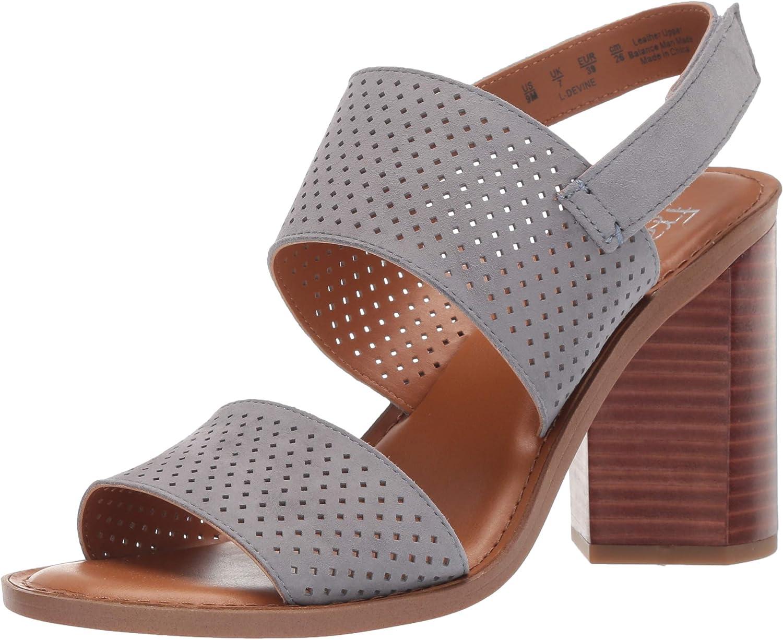Franco Sarto Women's Devine Heeled Sandal