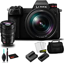 Panasonic Lumix DC-S1 Full-Frame Mirrorless Digital Camera with 24-105mm Lens-Bundle with Panasonic Lumix S PRO 50mm f/1.4...