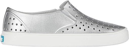 Silver Metallic/Shell White