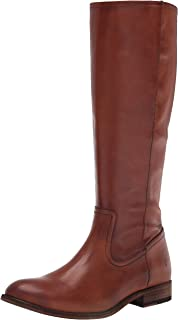 Frye Women's Melissa Inside Zip Tall Knee High Boot, Caramel, 6.5