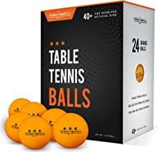 PRO SPIN Ping Pong Balls - Orange 3-Star 40+ Table Tennis Balls | High-Performance ABS Training Balls | Ultimate Durability for Indoor/Outdoor Ping Pong Tables, Competitions, Games