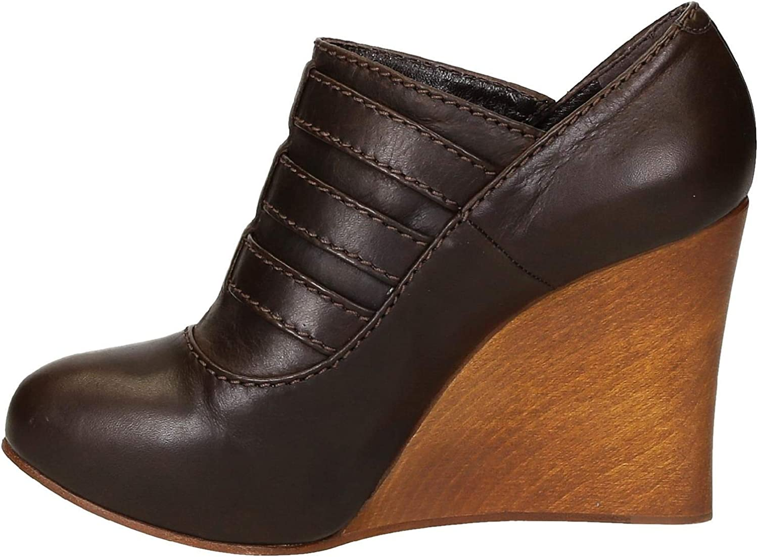 CHLOé Women's CH717100330 Brown Leather Wedges