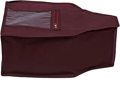 KANUSHI Industries 1 Pc Blouse Cover (Maroon)
