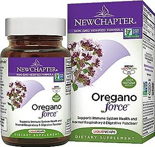 New Chapter Oregano Force Supplement, 30 Liquid Vcs (3 Bottles)
