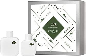 Lacoste L.12.12 Blanc Eau de Toilette Giftset, 5.0 Fl Oz