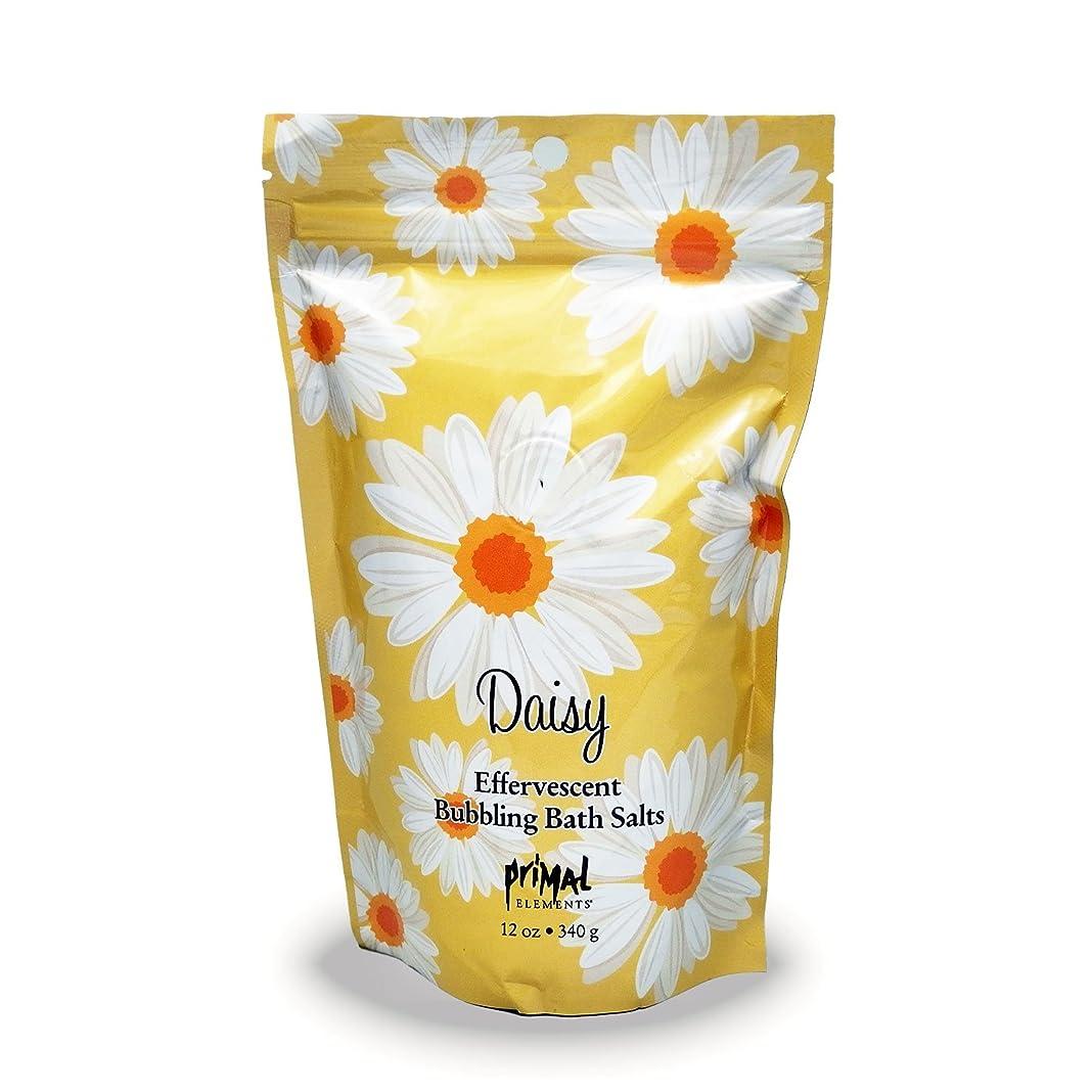 いま配送パイントプライモールエレメンツ バブリング バスソルト/デイジー 340g エプソムソルト含有 アロマの香りがひろがる泡立つ入浴剤