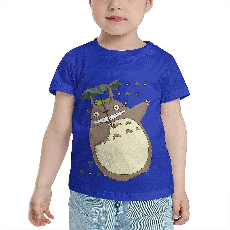 Padida Dancing Totoro 100% Cotton Kids Funny Tshirts