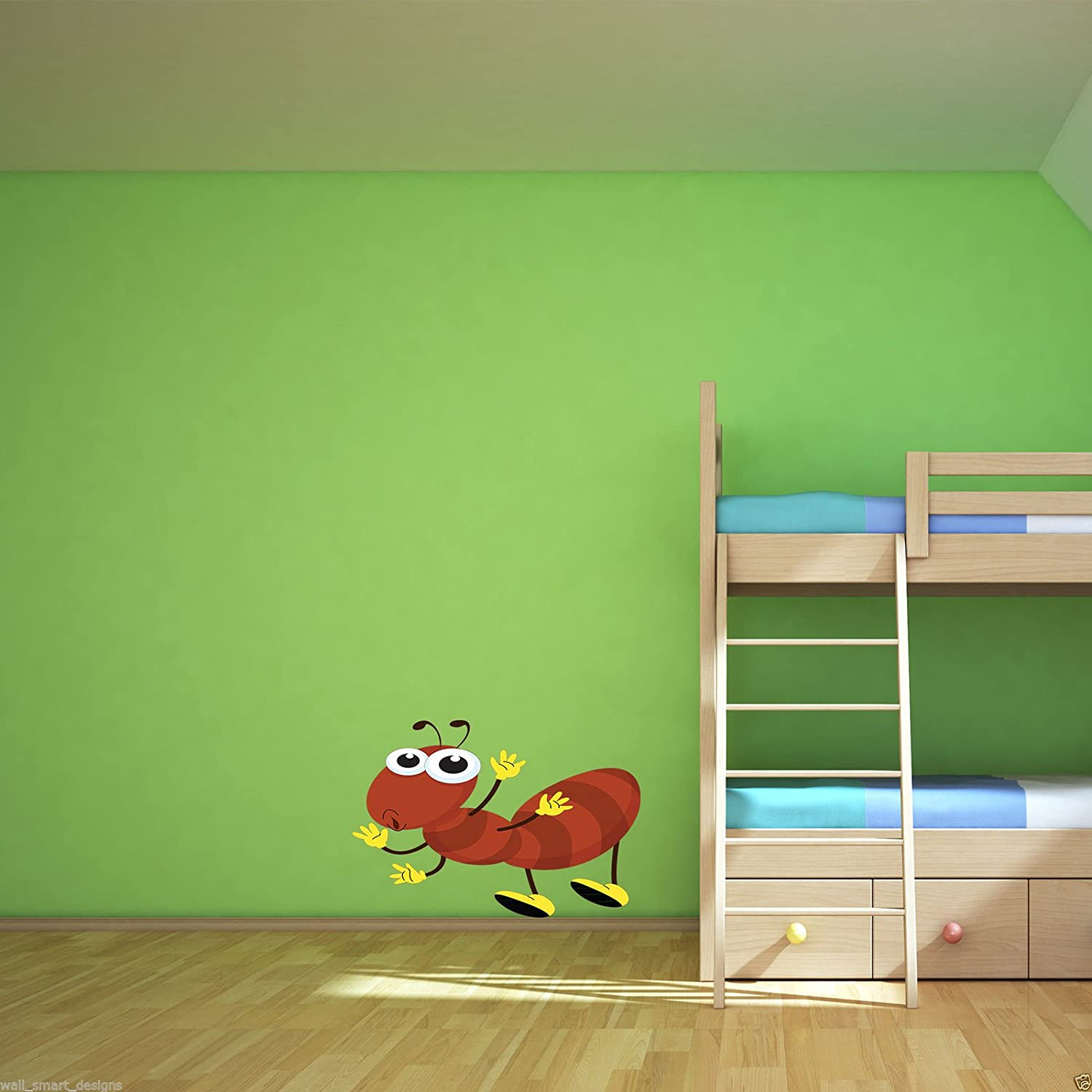 GIANT ANT INSECT BUG Full Colour Wall Sticker Decal Transfer Mural Boys Bedroom