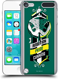 Official Harry Potter Slytherin Deathly Hallows VI Hard Back Case Compatible for iPod Touch 5G 5th Gen