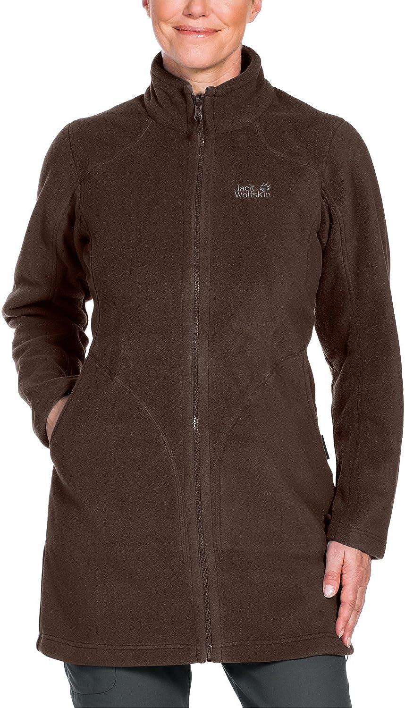 Jack Wolfskin Damen 3-in-1 Mantel 3in1-mantel Mocca