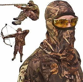 Best mesh hunting mask Reviews
