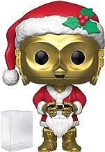 Funko Pop! Star Wars: Holiday - C-3PO as Santa Clause Vinyl Figure (Includes Pop Box Protector Case)