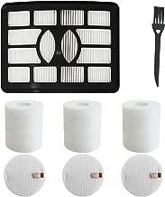 3 Foam & Felt + 1 Hepa Filters, Shark Rotator Professional Lift-away Upright Vacuum NV500 NV500CO NV501 NV502 NV505 NV510 NV552 UV560 Filter Kit Replacement Part XHF500 & XFF500