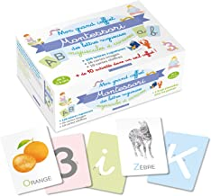 Livres Mon grand coffret Montessori lettres rugueuses PDF