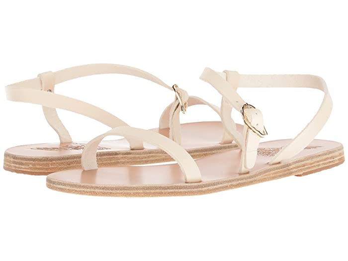 Ancient Greek Sandals  Niove (Off-White Vachetta) Womens Sandals
