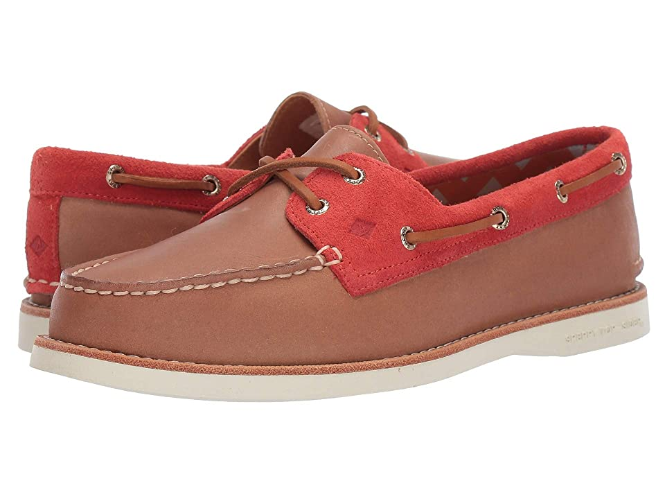 Sperry Authentic Original 2-Eye Premium (Tan/Orange) Women