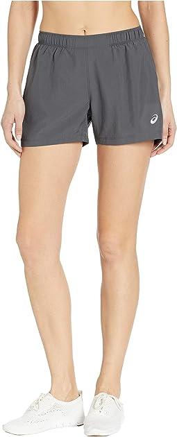 """Run Silver 4"""" Shorts"""