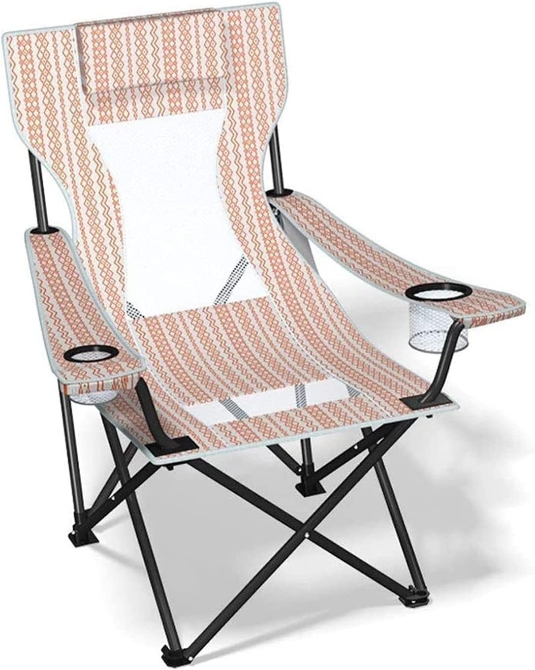 Tolalo Camping Folding Chair discount Heavy Steel Max 77% OFF Fish Frame Duty Support
